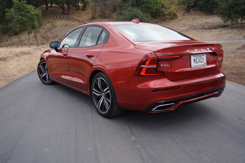PORTLAND TRIBUNE: JEFF ZURCHMEIDE - The 2019 Volvo S60 looks fast coming and going, and it drives as good as it looks.