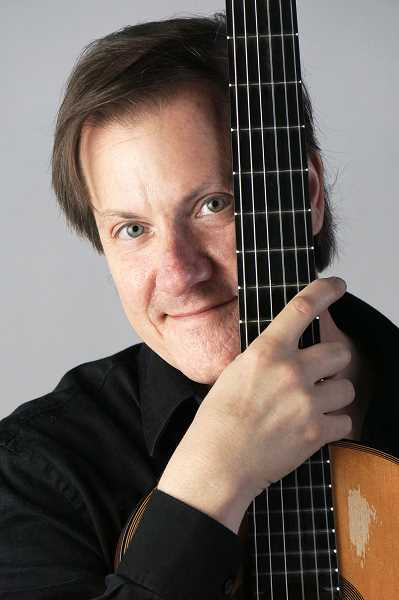 SUBMITTED PHOTO - Classical guitarist David Rogers will appear Friday at Coffee Cottage in Newberg.