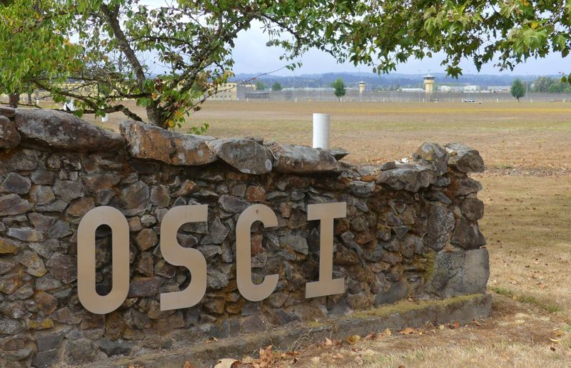 FILE PHOTO - The Oregon State Correctional Institution east of Salem.