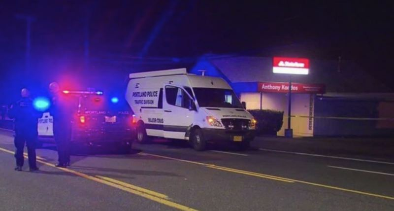 KOIN 6 NEWS PHOTO - A woman was killed after she was hit by two different cars, police say.