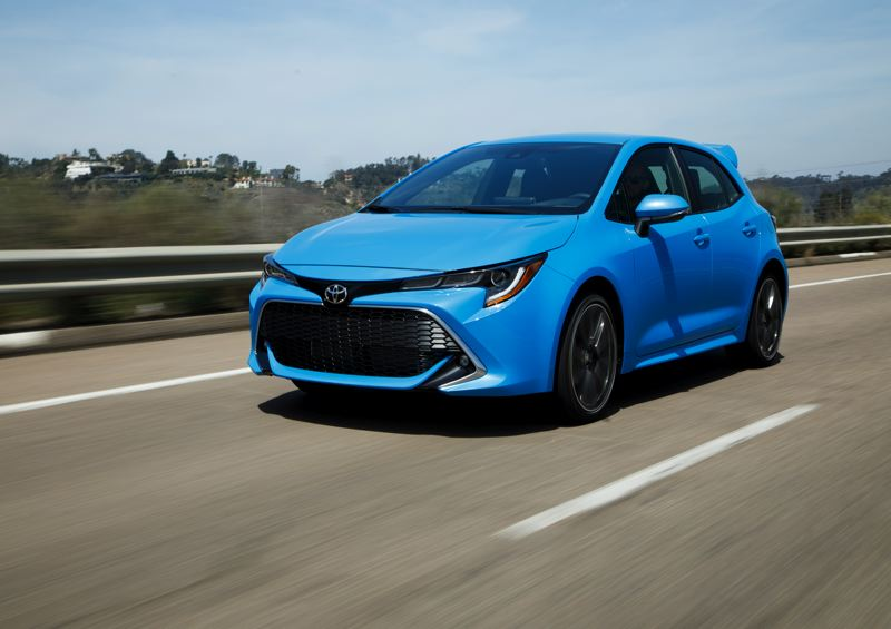 TOYOTA MOTOR SALES - The 2019 Toyota Corolla Hatchback XSE is the perfect entry-level sporty car. It looks good, is fun to drive, and costs under $26,000, fully loaded.
