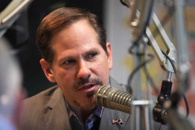 FILE PHOTO - State Rep. Knute Buehler, R-Bend, a candidate for Governor of Oregon, speaks during an interview with the Pamplin Media Group editorial board.