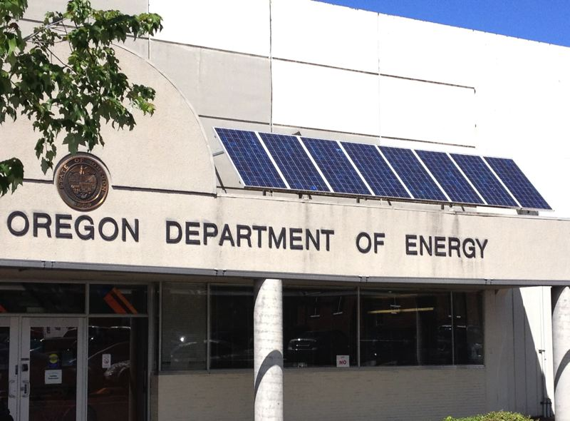 FILE PHOTO - The Oregon Department of Energy, is under fire for a scandal-plagued energy tax credits program.