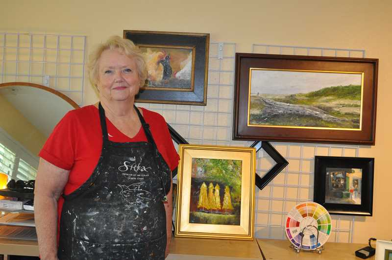 PHOTO: BLAIR STENVICK - Local artist Bonnie Burley will show her work at the Summerfield Art Guild's upcoming annual show.