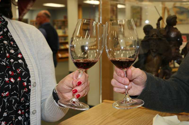 SUBMITTED PHOTO - The A Toast To Imagination event will feature wine tasting from six Pacific Northwest wineries.