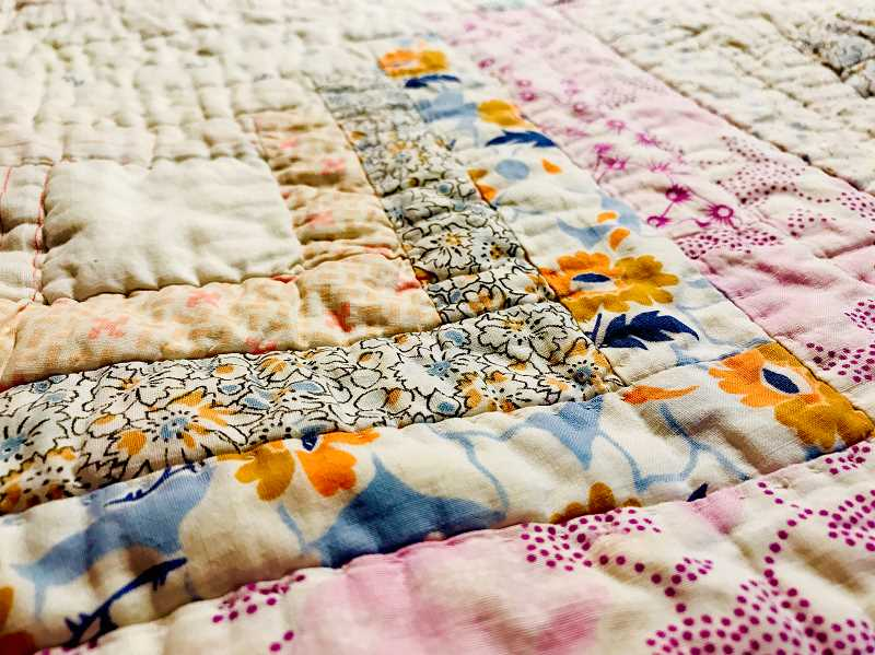 SPOKESMAN PHOTO: LESLIE PUGMIRE HOLE - Head to the historic Aurora Colony Museum this month for the annual quilt show.