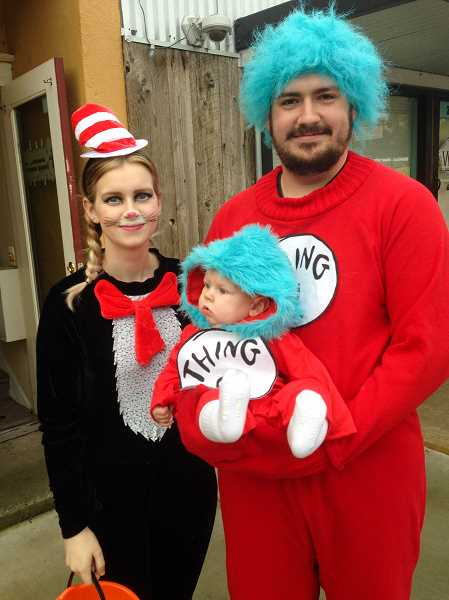 FILE PHOTO - These Dr. Seuss characters made an appearance at last years Estacada Creepy Crawl. This years event is scheduled for 4-6 p.m. Wednesday, Oct. 31.
