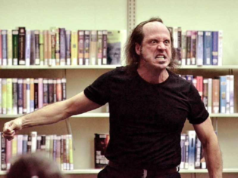 CONTRIBUTED PHOTO: CHRISTOPHER LEEBRICK - Chrisopher Leebrick will soon perform The Tell-Tale Heart and several other spooky pieces at the Estacada Public Library.