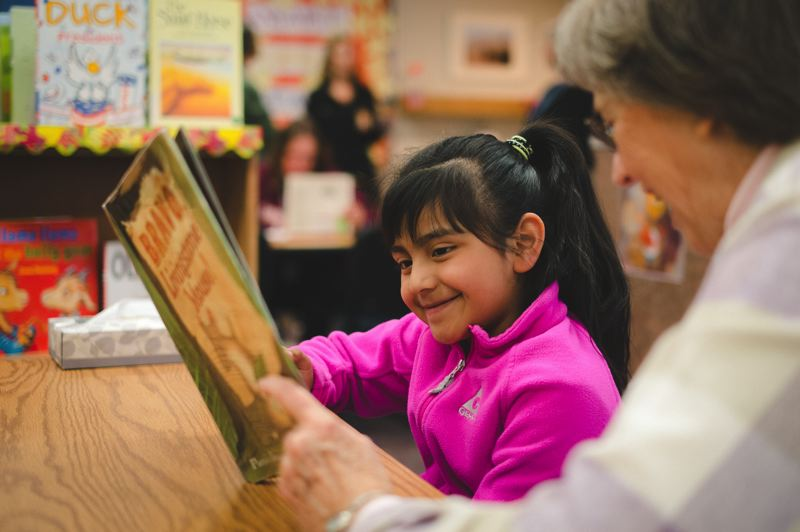 COURTESY PHOTO: START MAKING A READER TODAY  - Echo Shaw, Free Orchards and Joseph Gale elementary schools need volunteers to provide one-on-one reading support for students.