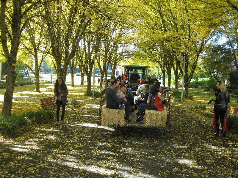 PHOTO COURTESY: JANICE NICHOLS - Hay rides will be offered at the PCC Harvest Festival at its Rock Creek campus on Saturday, Oct. 20 from 10 a.m. to 2 p.m.