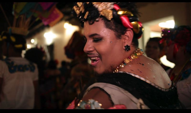 COURTESY: GENEVIEVE ROUDANE - Genevieve Roudane's 'The Chunta' is about a gathering in Mexico for men dressing as women. Roudane lived in Mexico for eight years and attended the festival each year. 'The Chunta' screens at the Portland Film Festival.