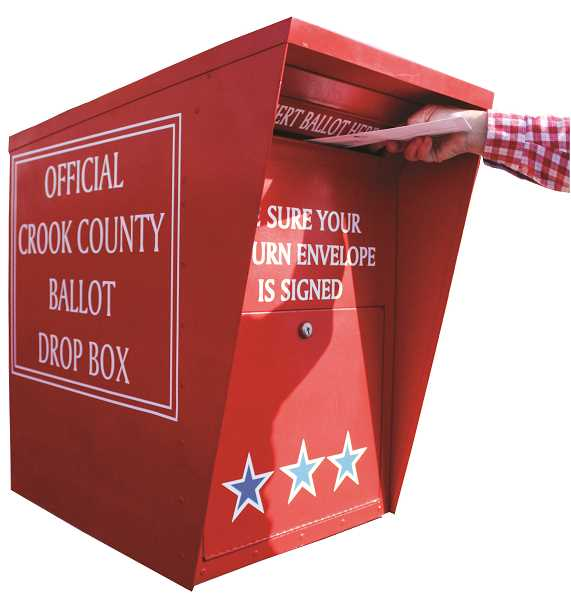 JASON CHANEY - Crook County ballots were mailed out Wednesday.