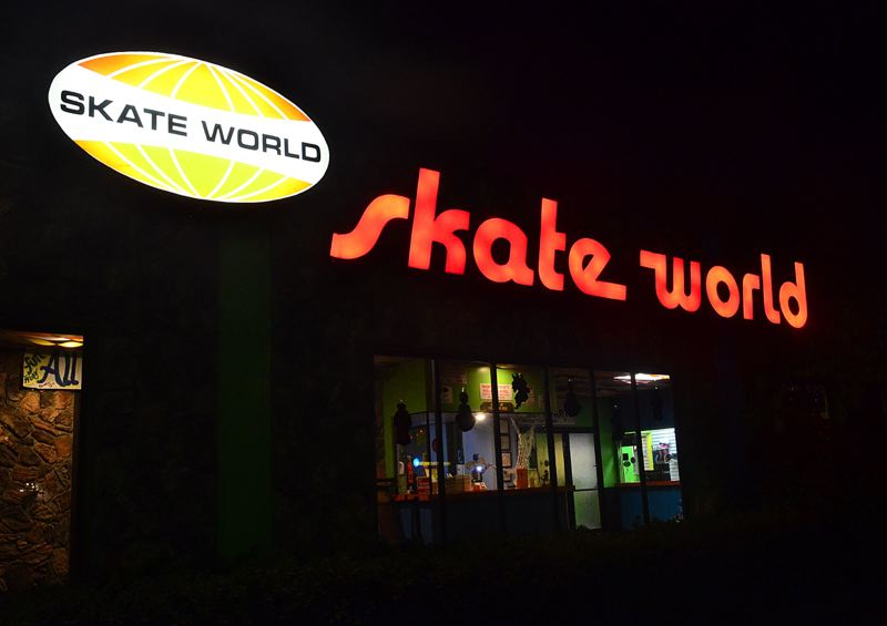 OUTLOOK PHOTO: VERN UYETAKE - The Gresham Skate World has been in business for 44 years and will close on Sunday, Oct. 28.