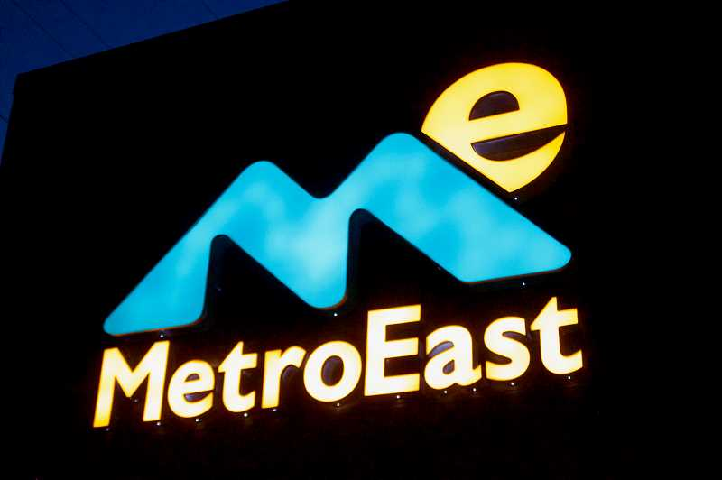 OUTLOOK PHOTO: CHRISTOPHER KEIZUR - One of the most important updates to the MetroEast building is better signage.