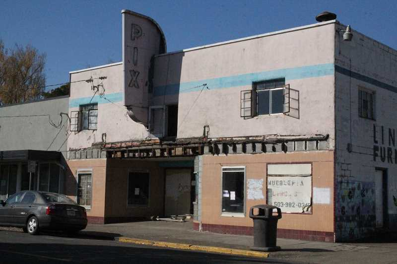 LINDSAY KEEFER - The Pix Theater in downtown Woodburn is tentatively going to be purchased by the city and then demolished.