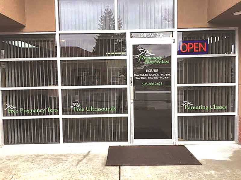 The Pregnancy Care Centers, serving Canby and Molalla, will offer free ultrasounds once again, likely by Nov. 1.