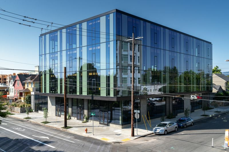 DANIEL KAVEN - The Silica, developed by Ruben J. Menashe Inc. and designed by William Kaven Architecture, offers ground-floor space for retail with three upper floors of leasable office space.