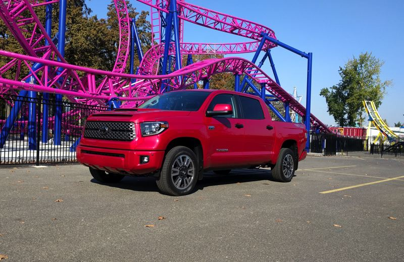 PAMPLIN MEDIA GROUP - The 2019 Toyota Tundra 4X4 TRD Sport is a good look, heay duty work horse of a pickup truck, at a reasonable price.
