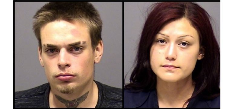 PHOTOS COURTESY: CLACKAMAS COUNTY SHERIFFS OFFICE - Booking photos for Edward Cerf, 20, and Gabriella Solis, 19, accused of an Oct. 18 burglary.