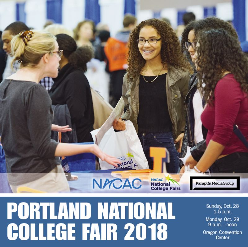 (Image is Clickable Link) NACAC National Collage Fair 2018