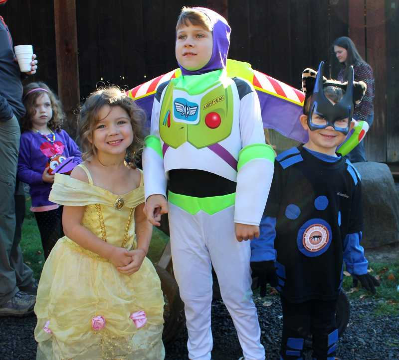 SPOKESMAN FILE PHOTO - Children and adults can wear costumes at the various events hosted by the City of Wilsonville Oct. 27-28.
