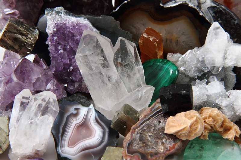 There will be plenty to see in the gem, mineral and rock realm during the weekend show.