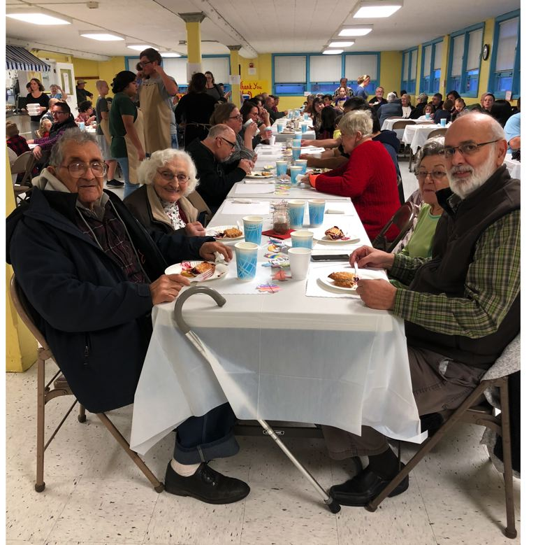 COURTESY PHOTO - For 70 years, the West Union Ham Dinner has brought community members together while fundraising for the school.