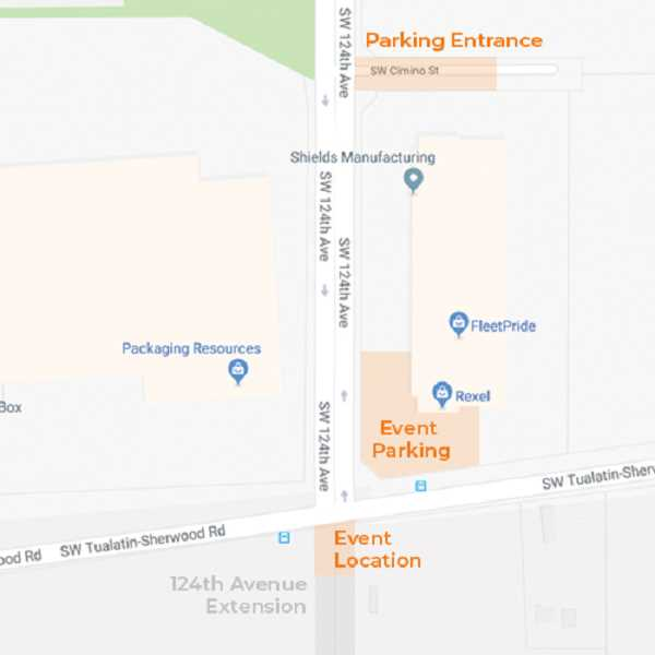 COURTESY OF WASHINGTON COUNTY  - Those attending the dedication of the 124th Avenue extension and the Willamette Water Supply pipeline Tuesday are asked to park across the street from the event.