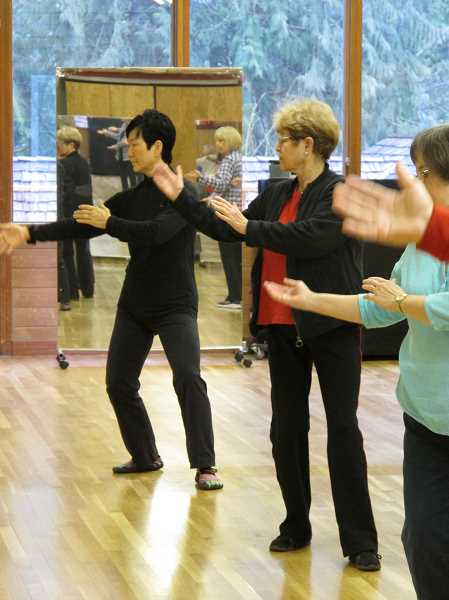 SUBMITTED PHOTO  - Tai chi is a popular form of exercise that improves health and balance. Sign up now for a new session starting at the Adult Community Center.