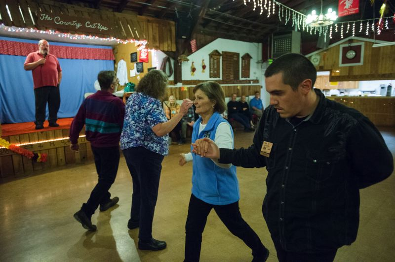FILE PHOTO - Join members of the Country Cut-Ups Square Dance Club for a little old-fashioned barn dancing. All ages and skill levels are welcome. See listing for times and location.