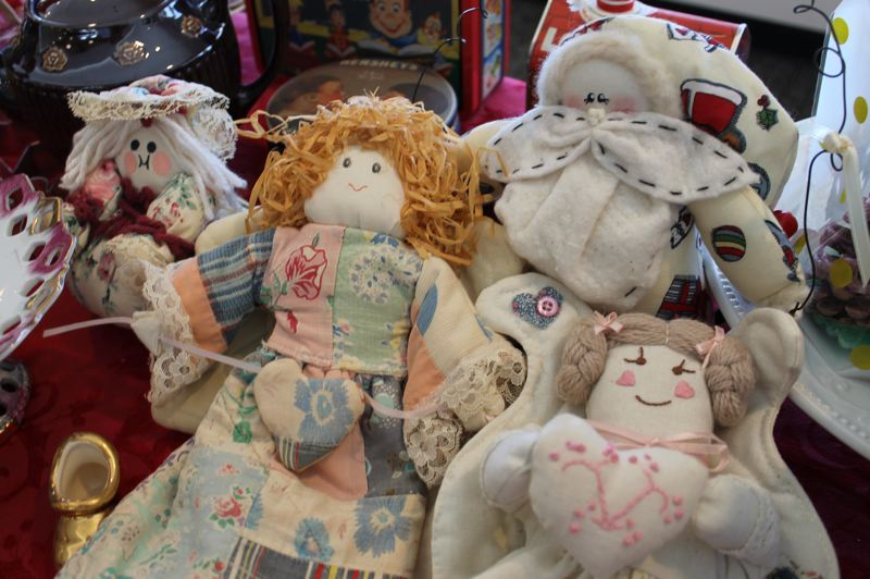 OUTLOOK PHOTO: ANNE ENDICOTT - St. Josephs Jingle and Mingle Craft Market will also offer a vintage and collectibles corner that includes a new look for classic holiday decorations.
