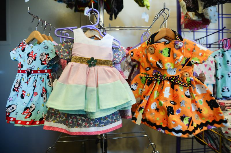 FILE PHOTO - Dressing up a favorite doll for that special young girl in your life is easy with fashion-savvy vendors offering doll clothes and accessories at this year's holiday craft bazaars.