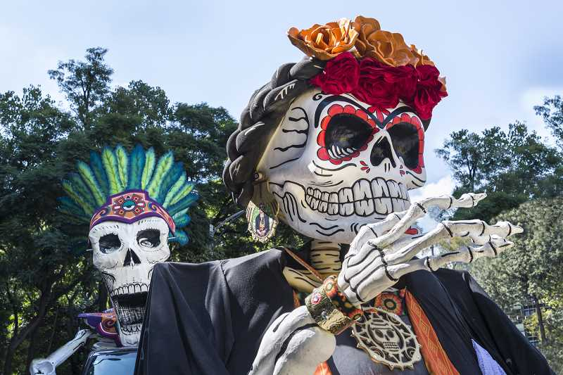 SUBMITTED PHOTO  - Take part in the Day of the Dead Celebration at Clackamas Community College Friday from 5 to 8 p.m.