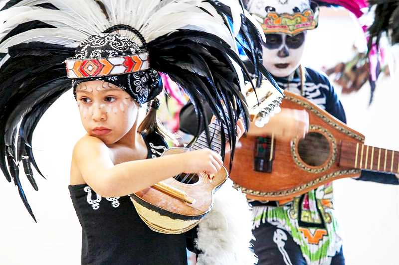 SUBMITTED PHOTO - Day of the Dead celebrations will return to the Chehalem Cultural Center from 5 to 8 p.m. Oct. 31.