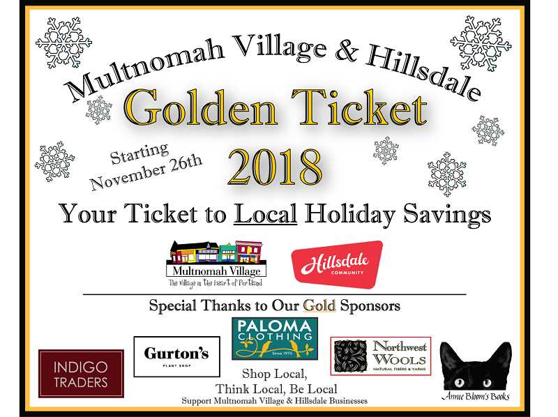 The Golden Ticket shop local promotion returns for its ninth year.