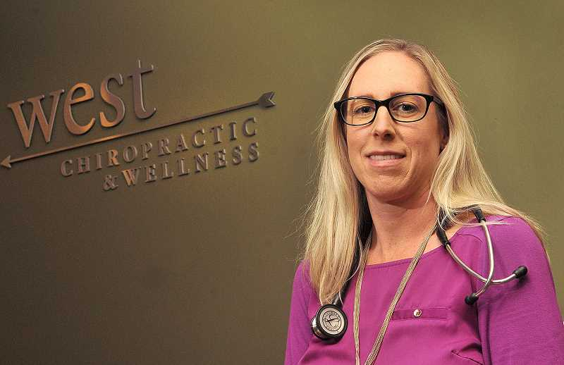 SPOKESMAN PHOTO: VERN UYETAKE  - April Voves is a primary care naturopathic doctor in Wilsonville.