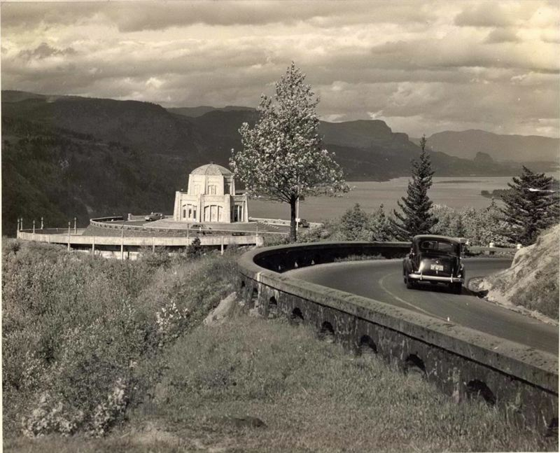 CONTRIBUTED PHOTO - Learn the story behind construction of the first national scenic highway in the country at an interactive exhibit presented by the Troutdale Historical Society. See listing for times and location.