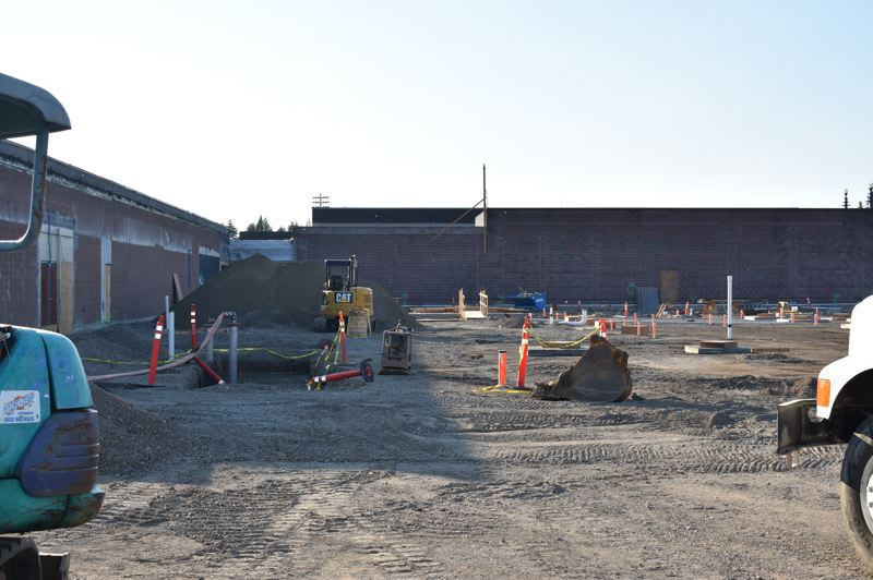 OUTLOOK PHOTO: TERESA CARSON - Barlow High School is getting a major overhaul and expansion as part of the $291.2 million bond voters in the Gresham-Barlow School District approved in November 2016.