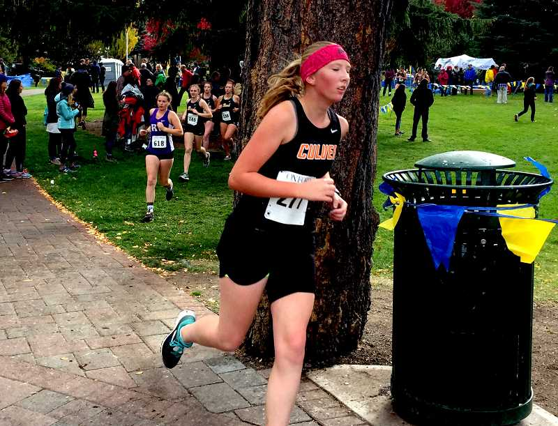 SUBMITTED PHOTO - A culver run participates in a race in this file photo.