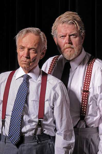 SUBMITTED PHOTOS: TRIUMPH PHOTOGRAPHY - Allen Nause as Henrry Drummond and Todd Van Voris as Matthew Harrison Brady in Lakewood Theatre Companys production of Inherit the Wind opening Nov. 2 and continuing through Dec. 9 at Lakewood Center for the Arts.