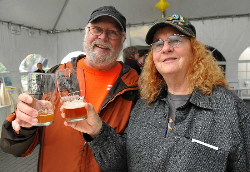 SPOKESMAN FILE PHOTO - The sixth annual Boones Ferry Autumn Ale Fest will feature beers and ciders from McMennamins breweries and unaffiliated breweries.