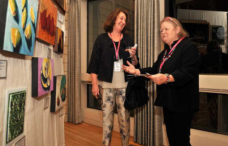 SPOKESMAN FILE PHOTO - The Charbonneau Arts Festival, which raises money for high school art programs, will feature over 40 artists including some who live in Charbonneau.
