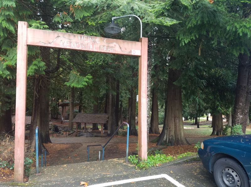 POST PHOTO: BRITTANY ALLEN - The city of Sandy received $12,000 to fund implementation of new archway for Meinig Memorial Park.