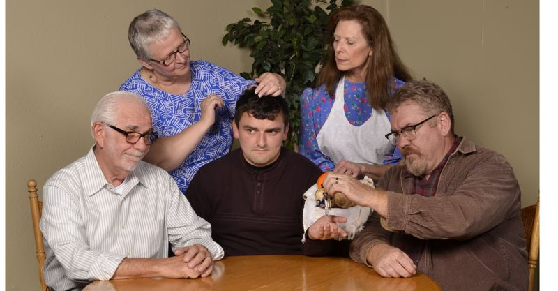 CONTRIBUTED PHOTO: MICHAEL HENLEY - Sandy Actors Theatre's production of 'Over the River and Through the Woods' will run 7:30 p.m. Fridays and Saturdays and 3 p.m. Sundays, Oct. 26 through Nov. 18.