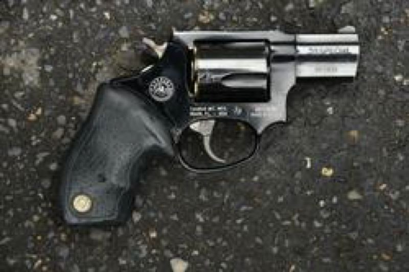 COURTESY PHOTO: PORTLAND POLICE BUREAU - The gun police say they recovered near Patrick Kimmon's body.