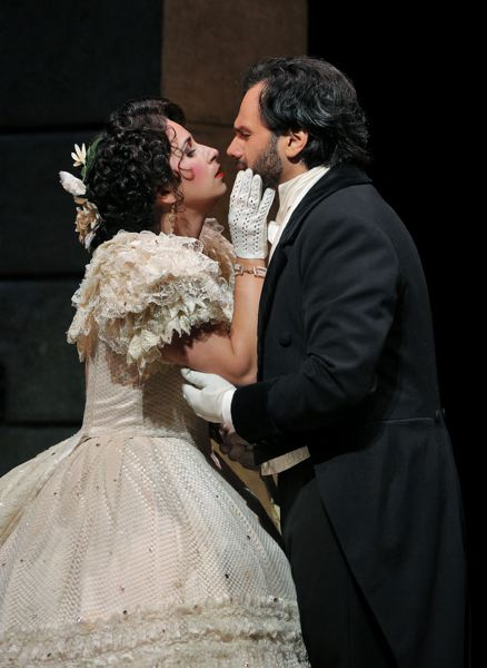 COURTESY: PORTLAND OPERA - With Verdi's 'La Traviata,' the story of a 19th century courtesan and her lover, Portland Opera begins its season early; it wants to appeal to people who like shows in the fall and winter.