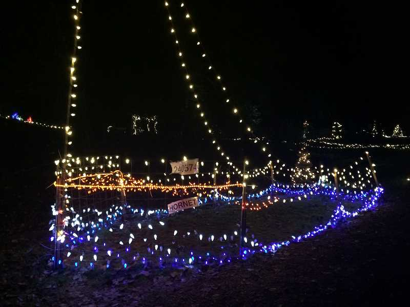 TIDINGS FILE - It takes a lot of light bulbs, and helpers, to string the historic Maddax Woods homestead with lights every holiday season. Help make that happen!