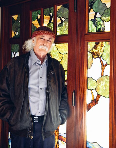 COURTESY: ANNA WEBBER - Crosby, 77, just released Here If You Listen, his fourth album since 2014, which features collaborative songwriting and playing with Michael League from Snarky Puppy, Michelle Willis and Becca Stevens.