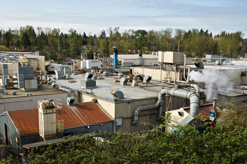FILE PHOTO - Precision Castparts' plant in Southeast Portland is shown here.