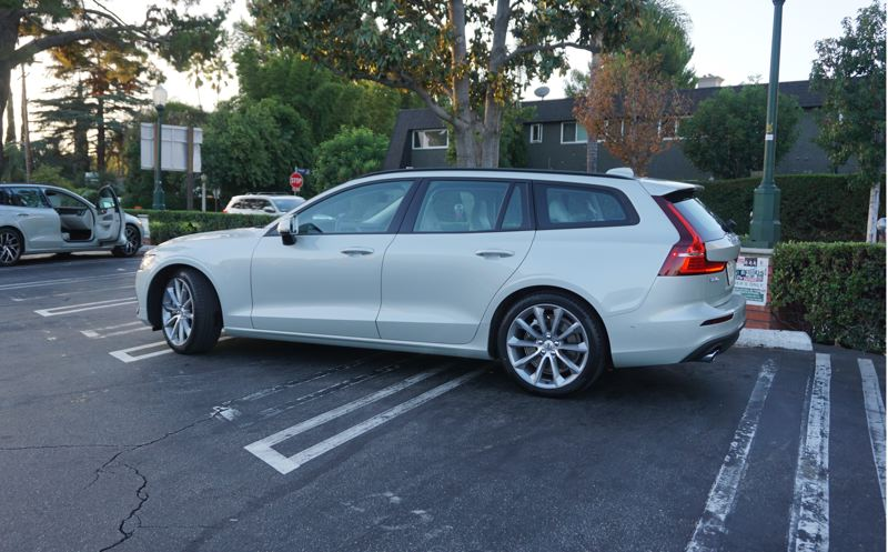 PORTLAND TRIBUNE: JEFF ZURSCHMEIDE - The wagon design makes the 2019 Volvo V60 as practical as an SUV, while still featuring sleek styling and a sports car-like ride.